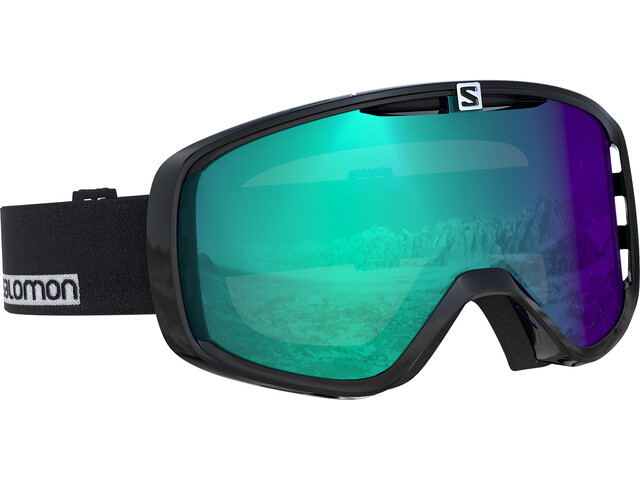 Salomon Aksium Photo Gafas de esquí Mujer, black/white